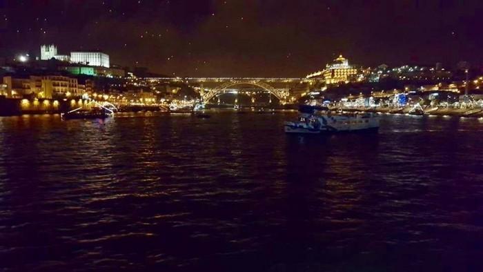 Panoramic view, Luiz I Bridge, 2015