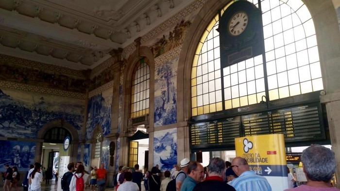 São Bento Railway Station (meeting)