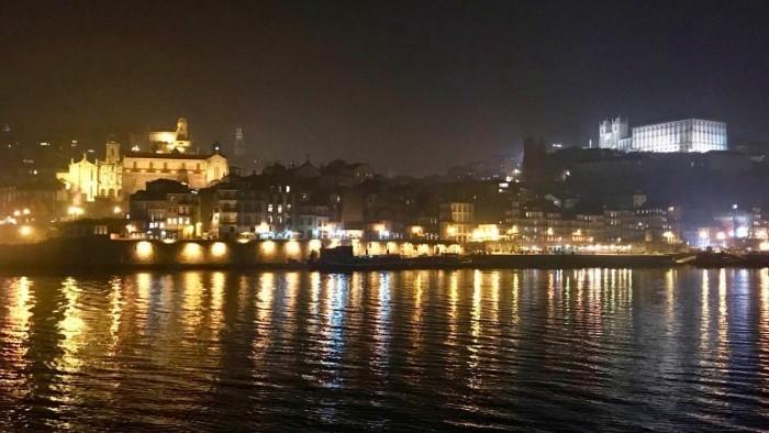Panoramic view to Porto City