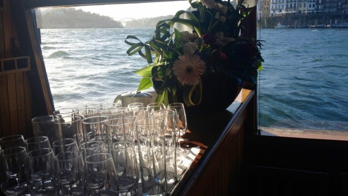 Cruise with dinner on board