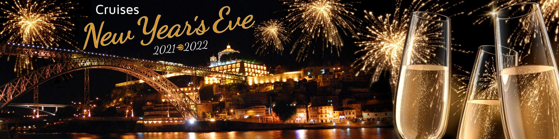 New Year's Cruise with Dinner in Porto